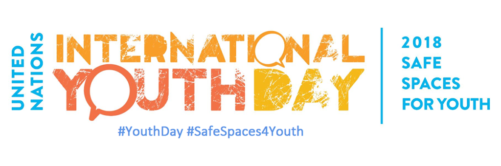 International Youth Day 2018 logo